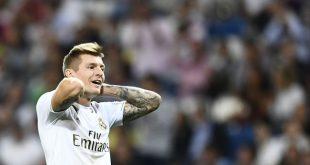 Kroos fällt für das Spiel gegen Mallorca aus