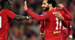 Mo Salah erzielt den Siegtreffer für Liverpool