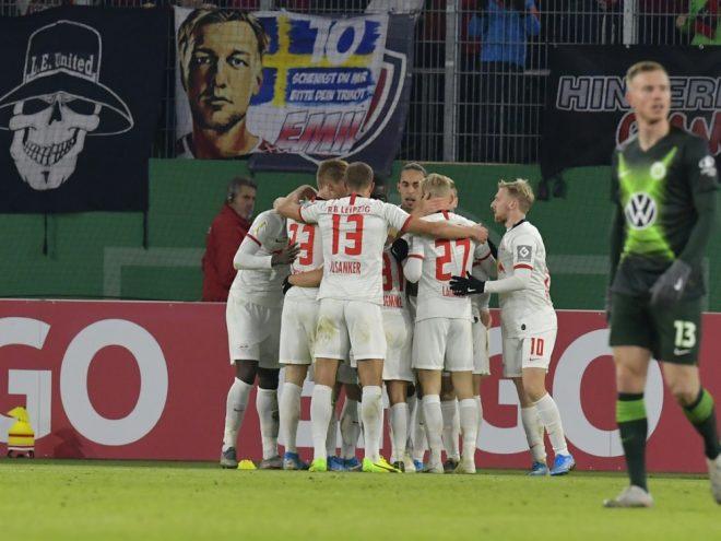 Leipzig setzte sich deutlich gegen Wolfsburg durch
