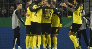 Dortmund drehte das Spiel innerhalb weniger Minuten
