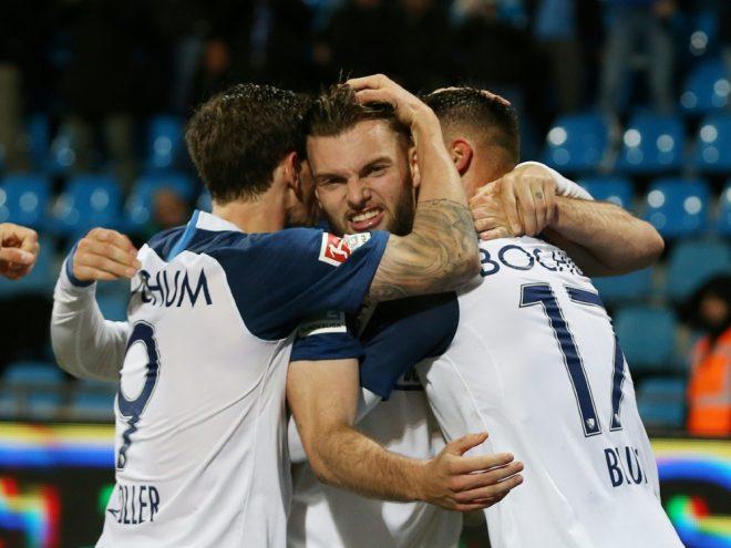 Der VfL Bochum bejubelt den ersten Heimsieg