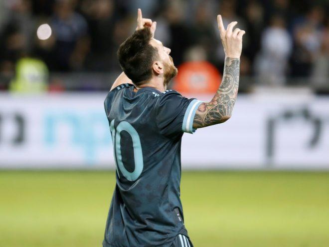 Lionel Messi mit Last-Minute-Tor für Argentinien
