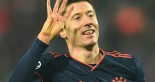 Lewandowski erzielt vier Treffer in 14:31 Minuten