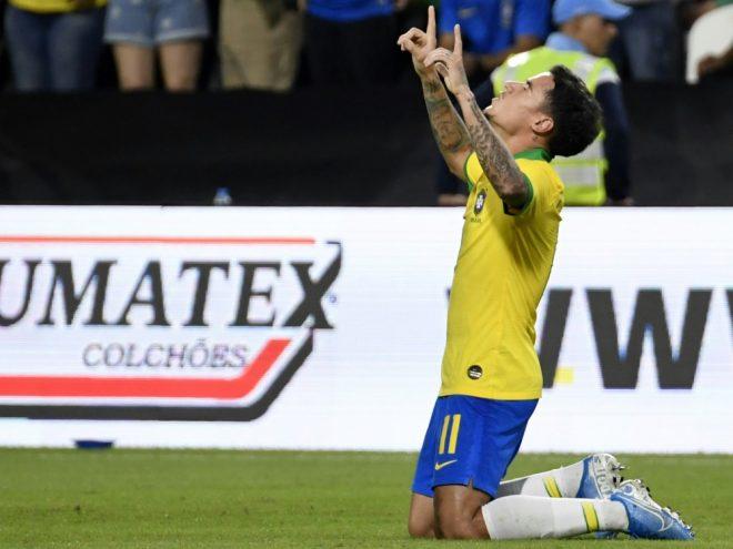 Philippe Coutinho trifft zum Ende des Länderspiel-Jahres