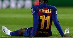 Drittes Mal verletzt in dieser Saison: Ousmane Dembele
