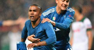 Douglas Costa traf für Juve in der Nachspielzeit