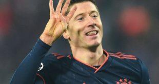 Robert Lewandowski schoss gegen Belgrad vier Tore