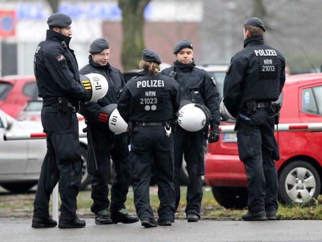 Laut Polizei wurden vier Hoffenheim-Anhänger verletzt