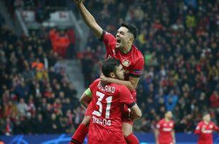 Leverkusen feiert den ersten Sieg der CL-Saison