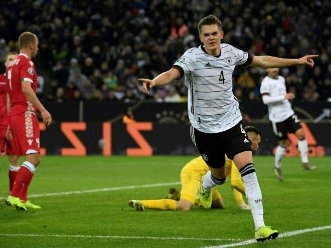 Matthias Ginter erzielt die Führung für die DFB-Elf