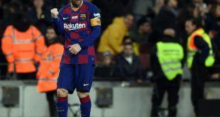 Messi steht gegen Inter Mailand nicht auf dem Rasen