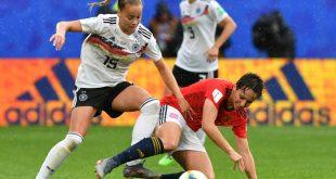 DFB-Frauen um Gwinn (l.) treffen in Münster auf Irland