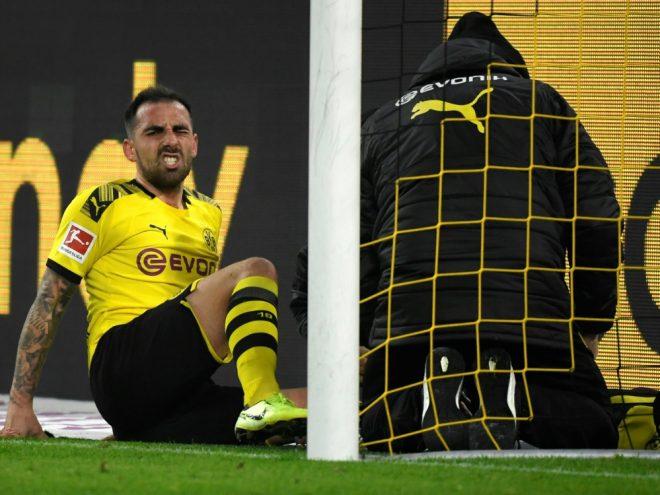 Paco Alcacer nach Verletzung wieder im Training