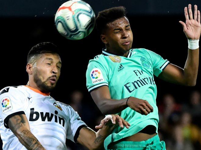 Der FC Valencia und Real Madrid trennten sich mit 1:1