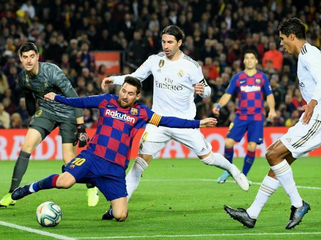 Clasico: Barcelona und Madrid trennen sich 0:0