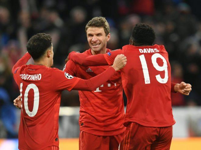 Der FC Bayern ist mit 18 Punkten souverän Gruppenerster