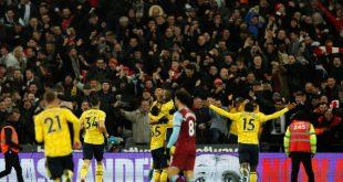 Arsenal feiert lang ersehnten Sieg bei West Ham