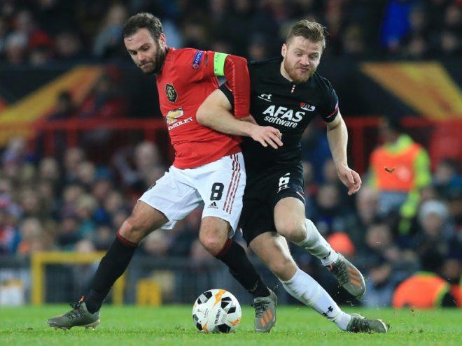 Manchester United beendet die Vorrunde als Gruppensieger