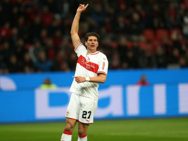 Erzielte die 2:1-Führung für Stuttgart: Mario Gomez