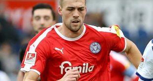Ein Spiel Sperre für Jonas Meffert von Holstein Kiel