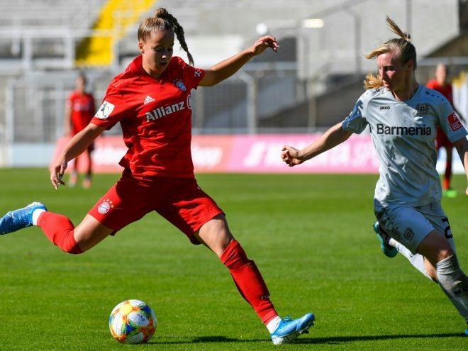 Giulia Gwinn (l.) würde vor den Männern spielen