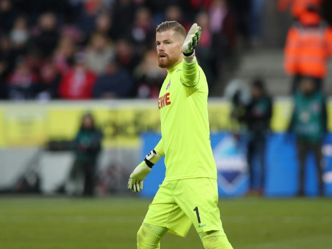Timo Horn sieht den FC beim BVB als klaren Außenseiter