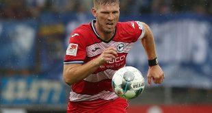 Fabian Klos und Arminia Bielefeld bleiben in Aue torlos