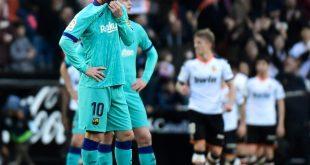 FC Barcelona verliert in Valencia mit 0:2