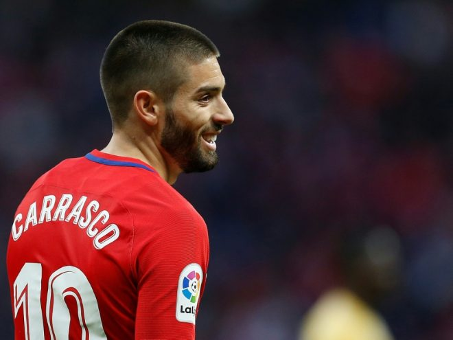 Carrasco spielte bereits von 2015 bis 2018 für Atletico