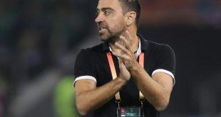 Xavi trainiert zurzeit den katarischen Klub Al-Sadd