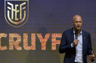 Jordi Cruyff neuer Nationaltrainer von Ecuador