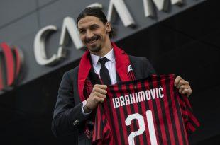 Ibrahimovic trägt beim AC Mailand die Rückennummer 21