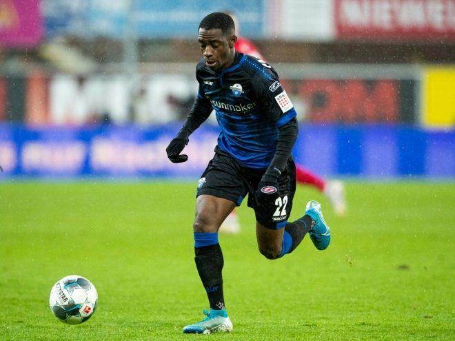 Antwi-Adjei brachte Paderborn mit seinem Tor in Führung