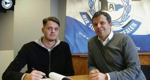 Oscar Linner unterschreibt bei der Arminia bis 2023