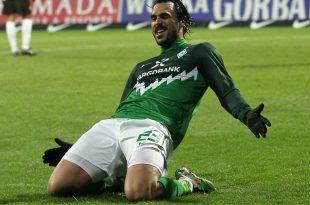 Spielte fünf Jahre an der Weser: Hugo Almeida