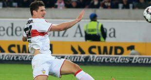 Traf für den VfB zum Ausgleich: Torjäger Mario Gomez