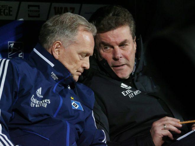 Dieter Hecking und der HSV sind auf Rekordjagd