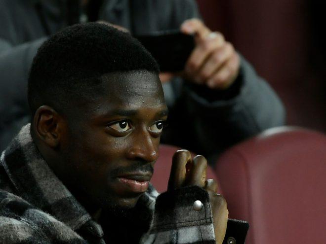 Wird noch länger auf der Tribüne sitzen: Ousmane Dembele