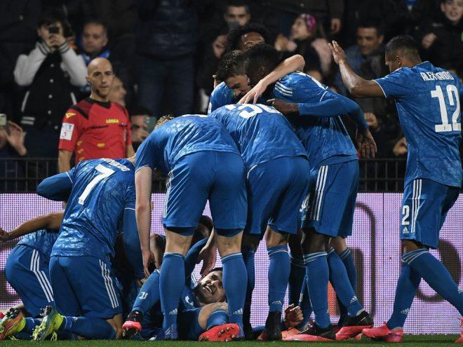 Juventus Turin bejubelt ein 2:1 gegen SPAL