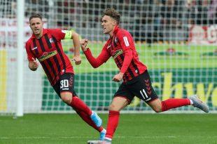 Waldschmidt schießt Freiburg zum Sieg gegen Hoffenheim