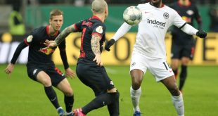 RB Leipzig unterliegt Eintracht Frankfurt im Pokal