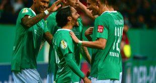 Bremen jubelt über den Einzug ins Viertelfinale