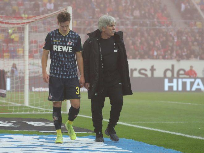 Noah Katterbach musste verletzt ausgewechselt werden