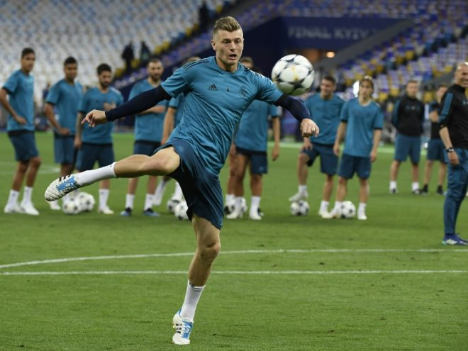 Nur Reservist gegen Manchester City: Toni Kroos
