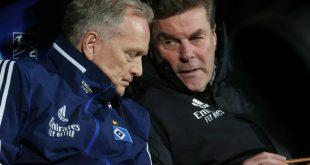 Pleite für den HSV und Dieter Hecking