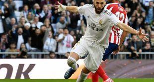 Karim Benzema erzielt den Siegtreffer für Real Madrid