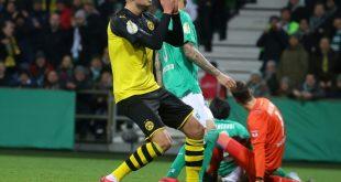 Die Dortmunder schieden in Bremen aus