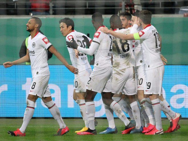 Die Frankfurter feierten einen klaren 5:0-Sieg