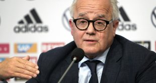 DFB-Präsident Keller äußerte sich zum Thema Rassismus