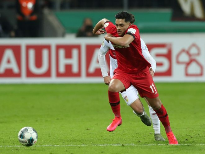 Nadiem Amiri springt Porto-Star Moussa Marega zur Seite